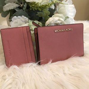 Last one✨Michael Kors card case wallet